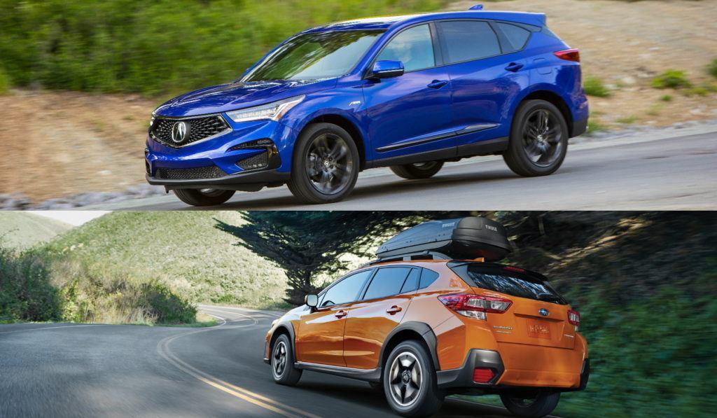 Acura RDX vs Subaru Crosstrek