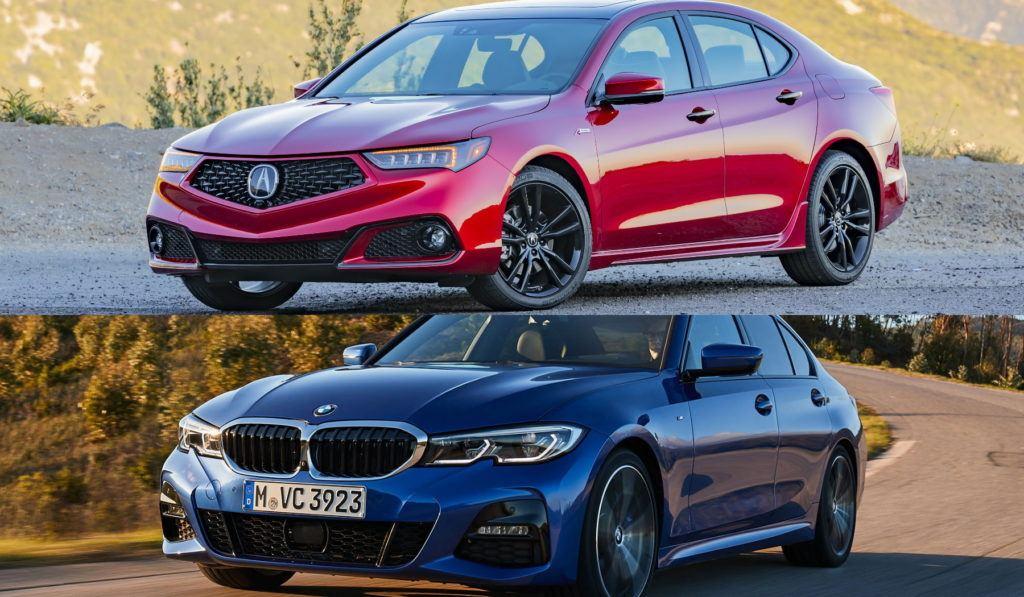 Acura TLX vs BMW 3-Series