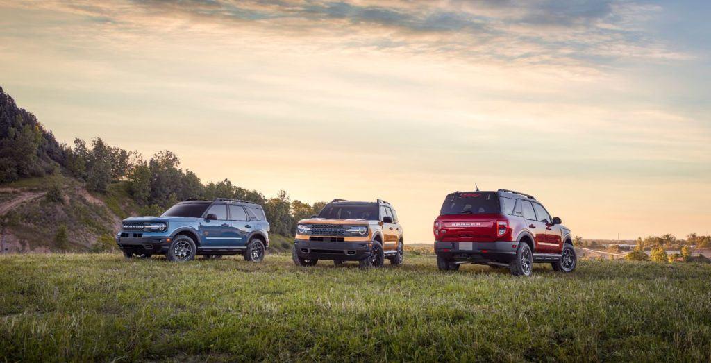 2021 Ford Bronco Sport family.