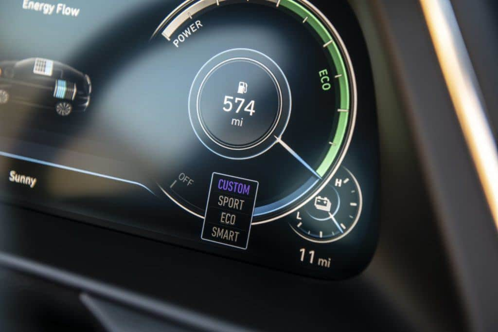 2020 Hyundai Sonata Hybrid 8