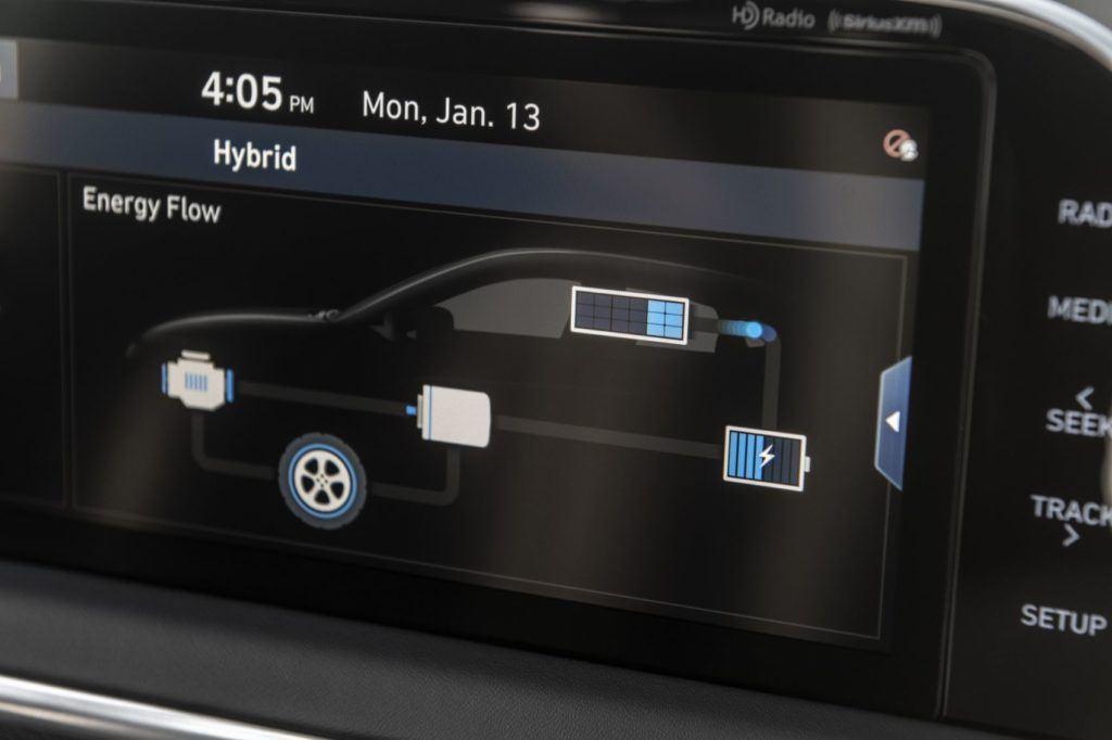 2020 Hyundai Sonata Hybrid 9