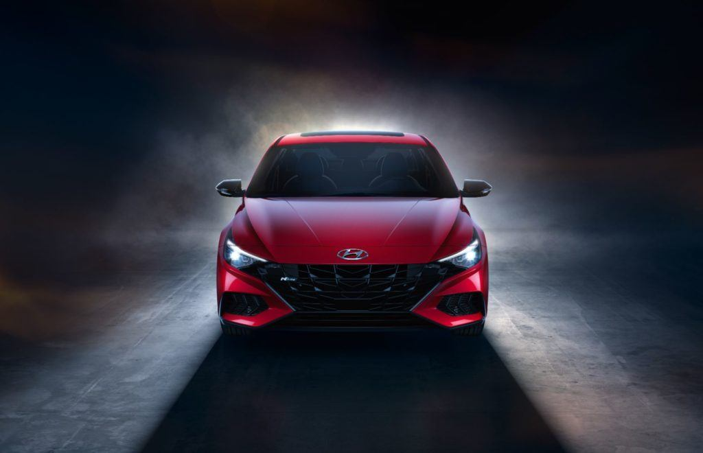 2021 Hyundai Elantra N Line 25