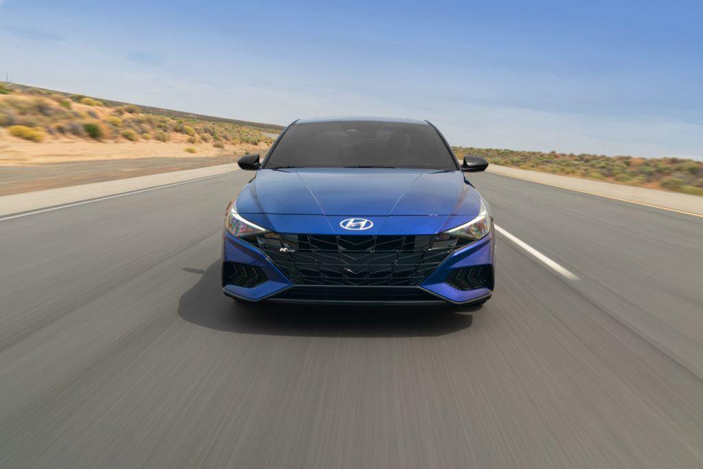 2021 Hyundai Elantra N Line 7