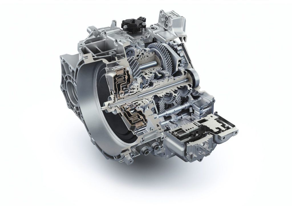 N Eight-Speed Wet Dual-Clutch Transmission.