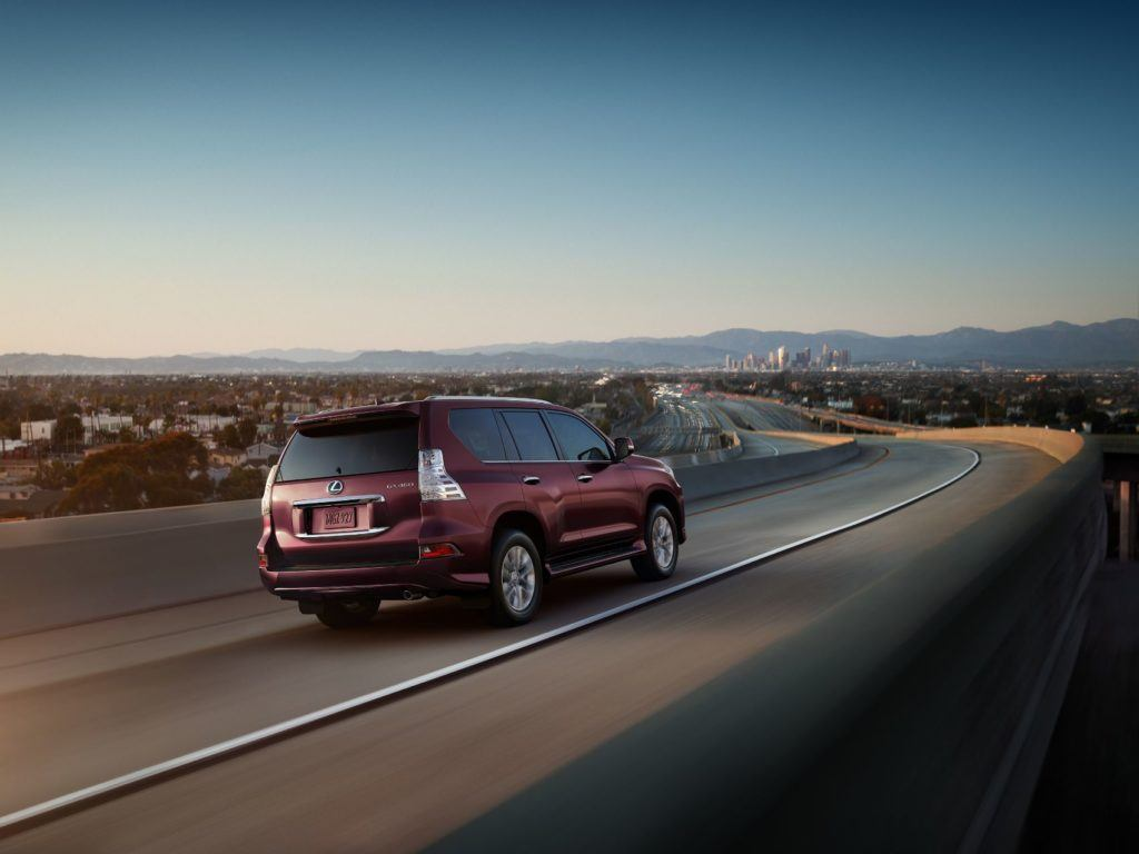 2021 Lexus GX 460 on the open road.