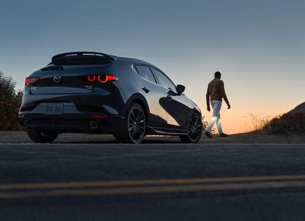 2021 Mazda3 2.5 Turbo.