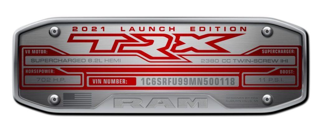 2021 Ram 1500 TRX Launch Edition 9