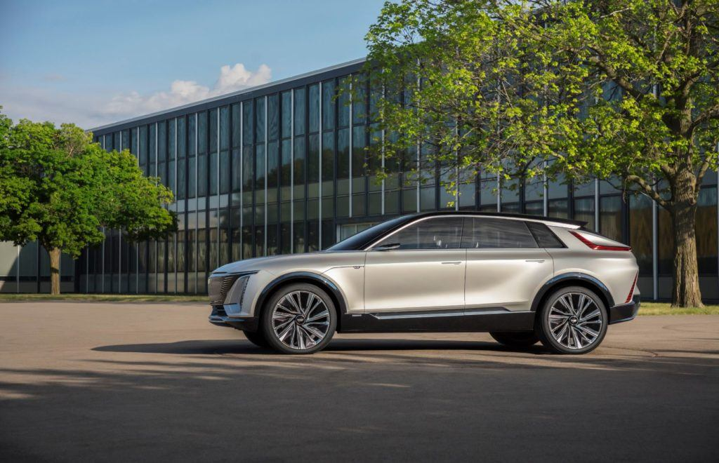 The Cadillac Lyriq will arrive in late 2022 as a 2023 model.