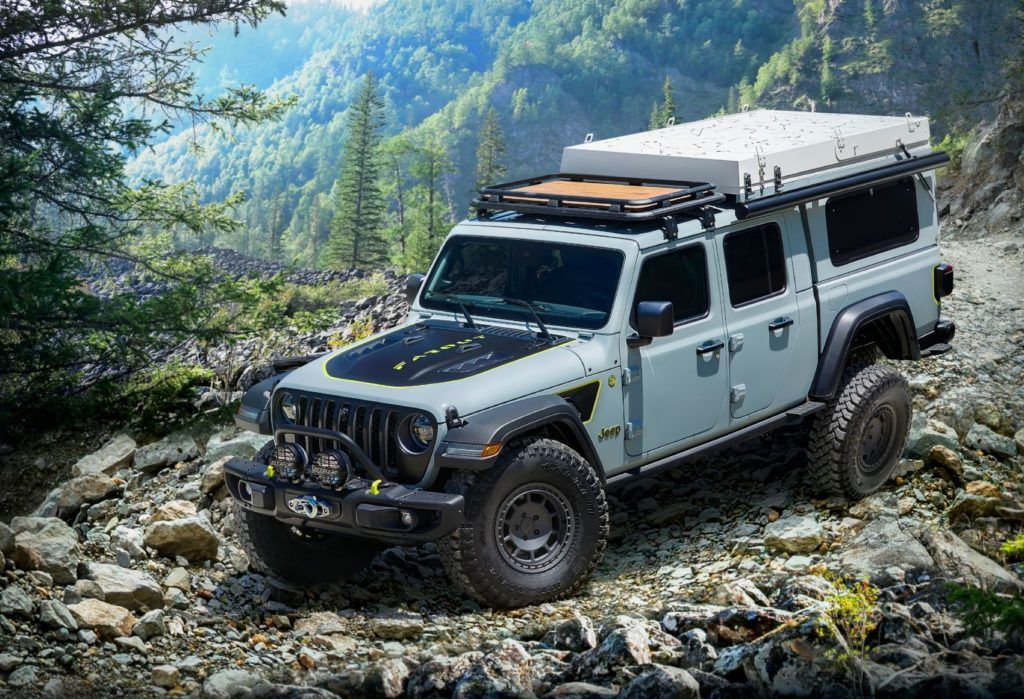 Jeep Gladiator Farout concept.