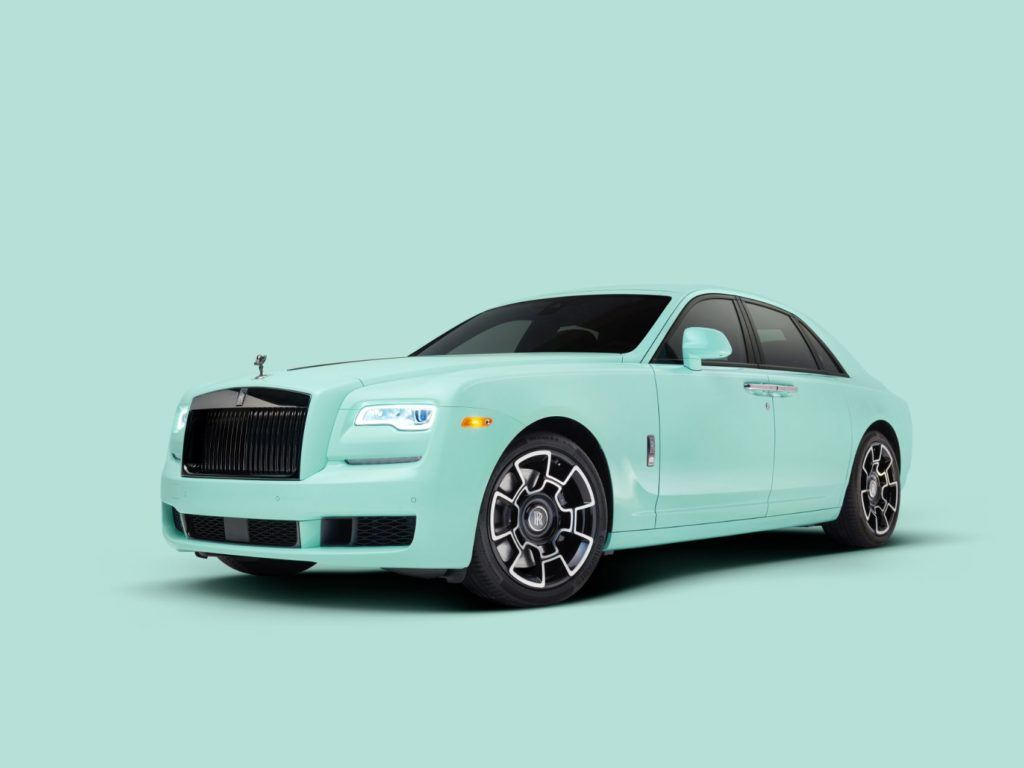 Rolls-Royce Ghost Black Badge 'Pebble Beach Pastel Collection.