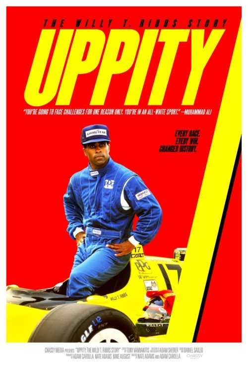 Uppity The Willy T Ribbs Story Poster