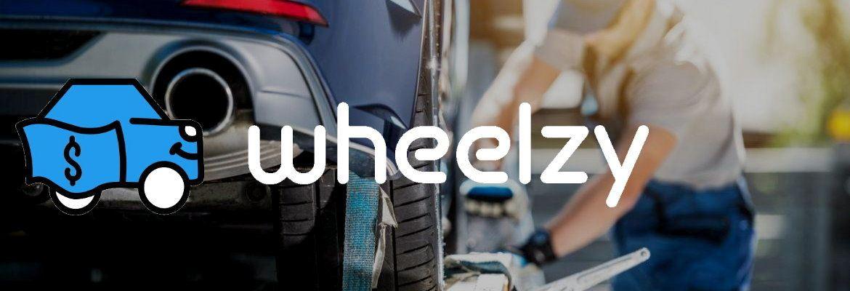 Wheelzy banner logo