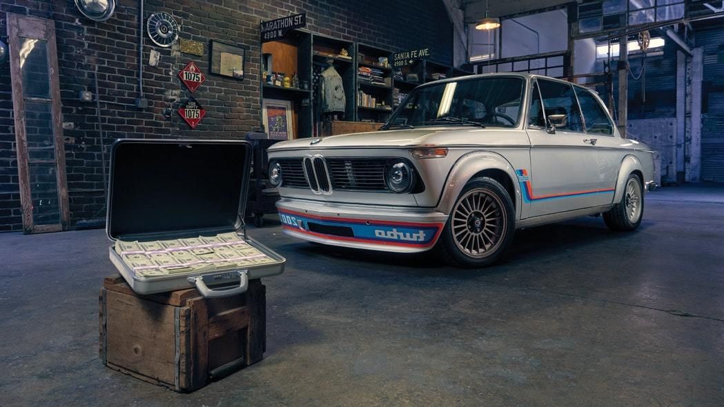 Enter to Win This Rare 1974 BMW 2002 Turbo & $20,000 Cash!