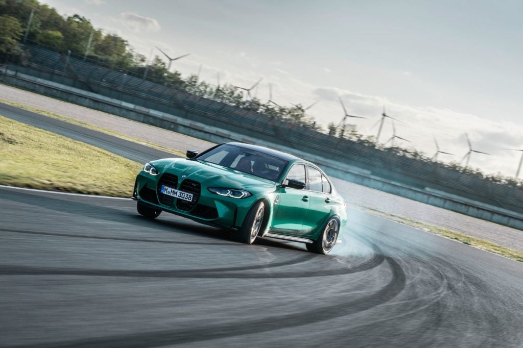 2021 BMW M3 Competition.