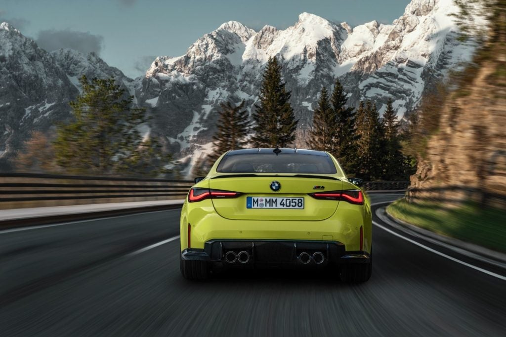 2021 BMW M3 Competition and M4 Competition 8