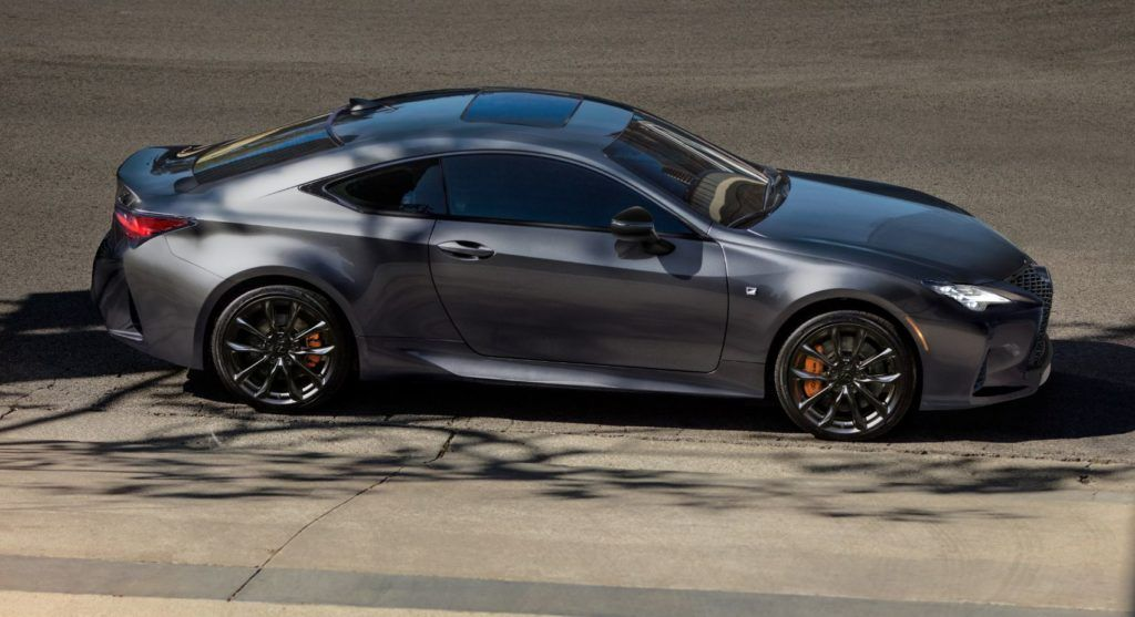 2021 Lexus RC: New Black Line Editions Are Red Hot!