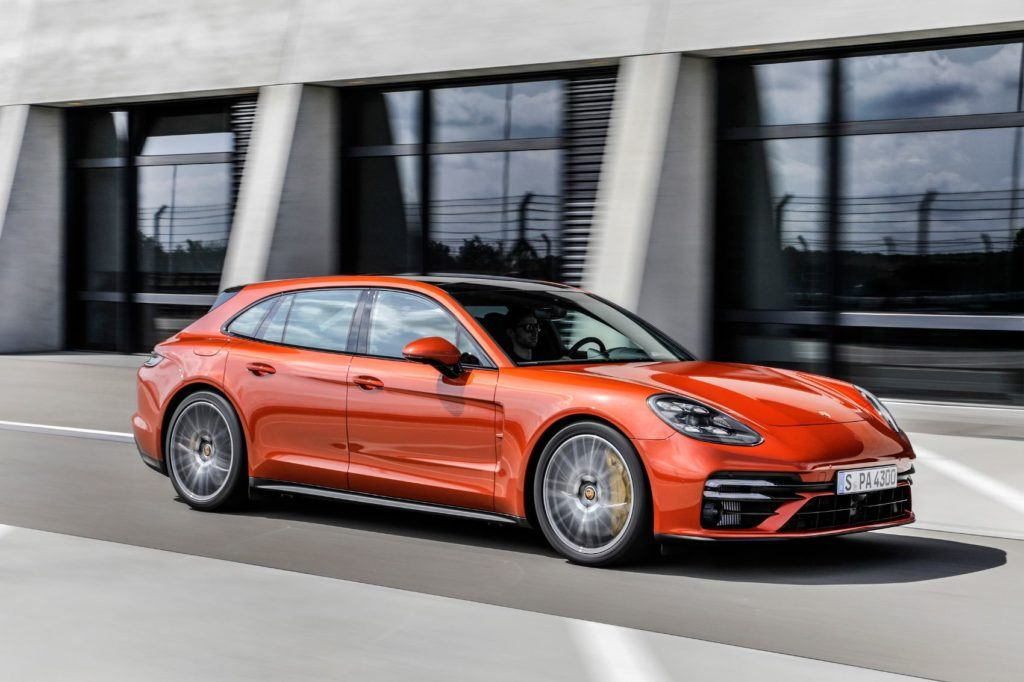 2021 Porsche Panamera.