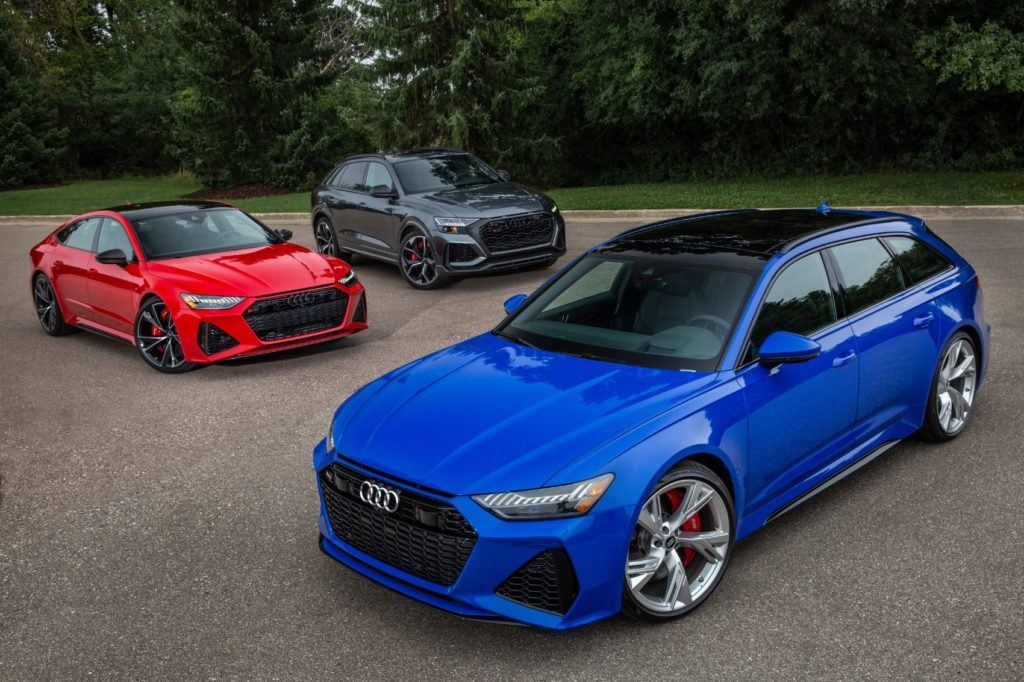 2021 RS 6 Avant RS 7 and Audi RS Q8