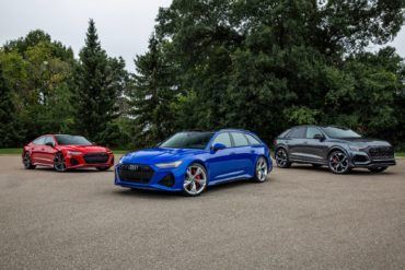 2021 RS 6 Avant RS 7 and RS Q8
