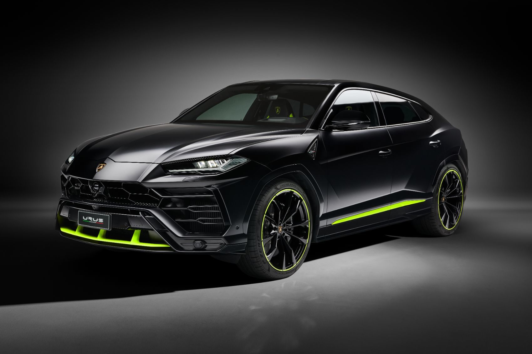 Enjoy This Gallery of The New Lamborghini Urus Graphite Capsule