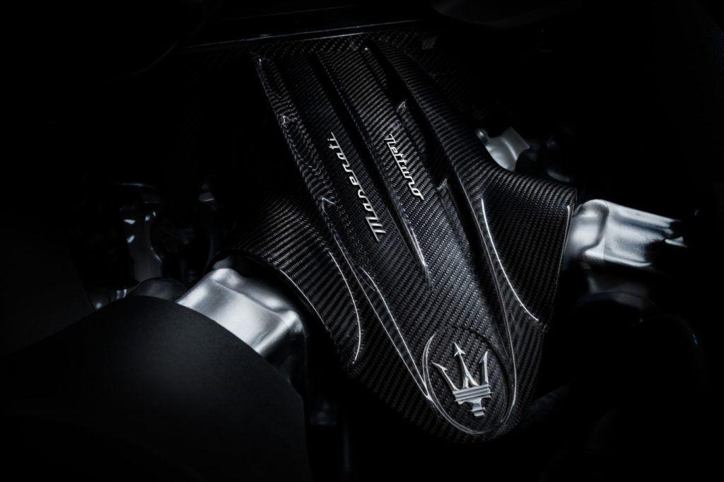 Maserati MC20 Nettuno engine.