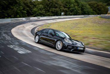 Porsche Panamera Nurburgring Nordschleife 6