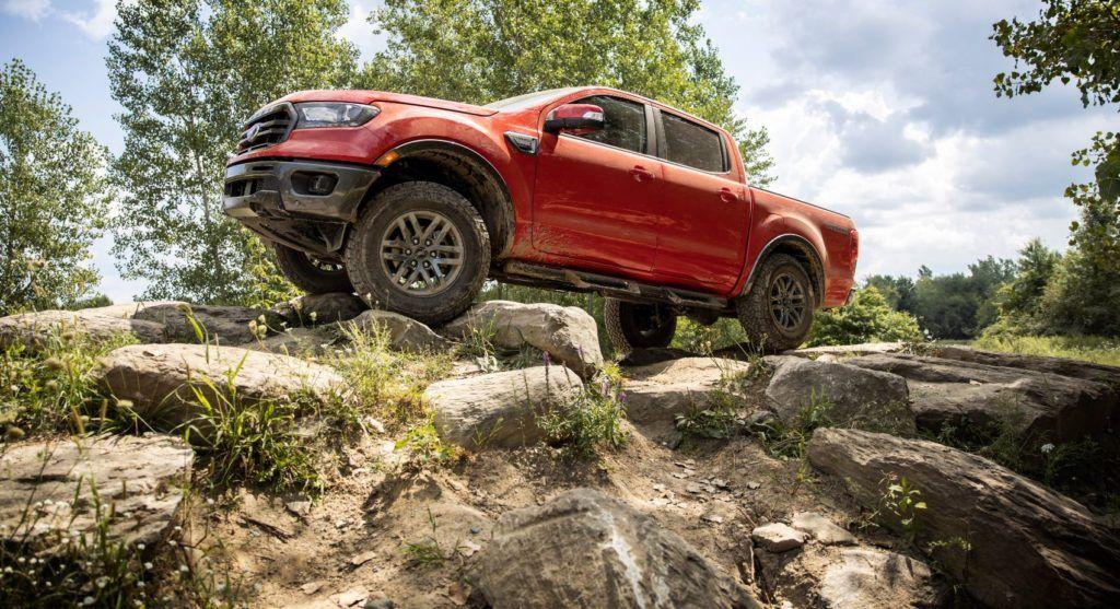 2021 Ford Ranger Tremor.