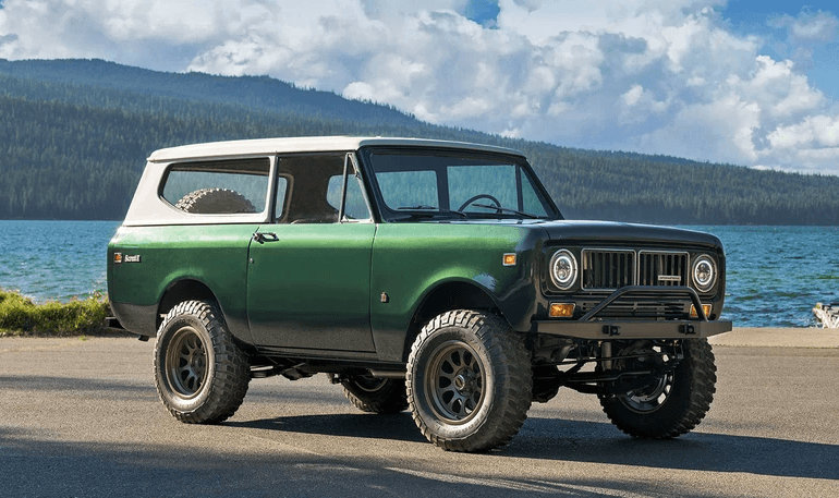 Restored 1973 International Scout II 8