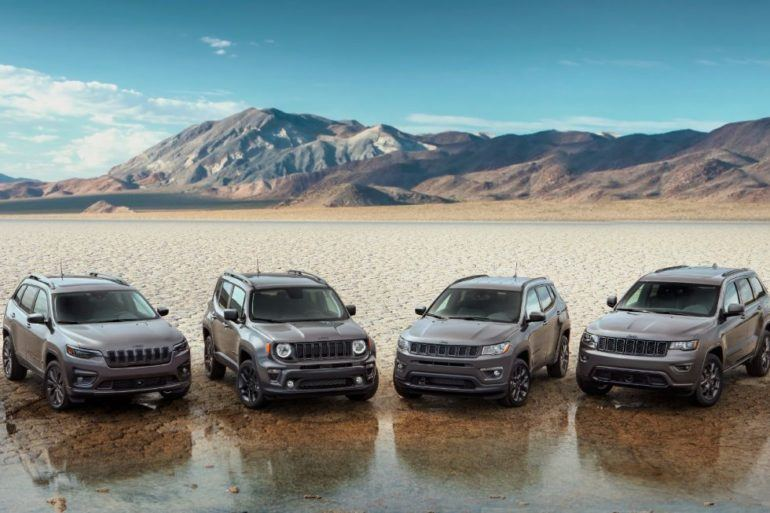 2021 Jeep 80th Anniversary Editions 1
