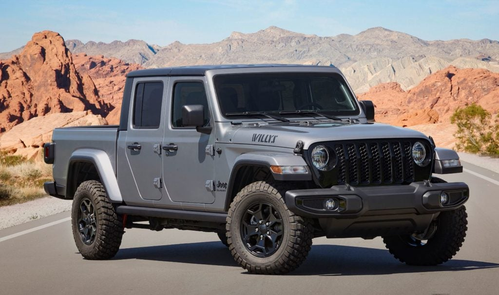 2021 Jeep Gladiator Willys 1