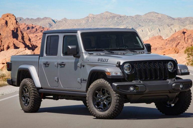 2021 Jeep Gladiator Willys 1