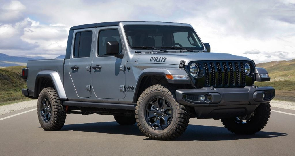 2021 Jeep Gladiator Willys 2