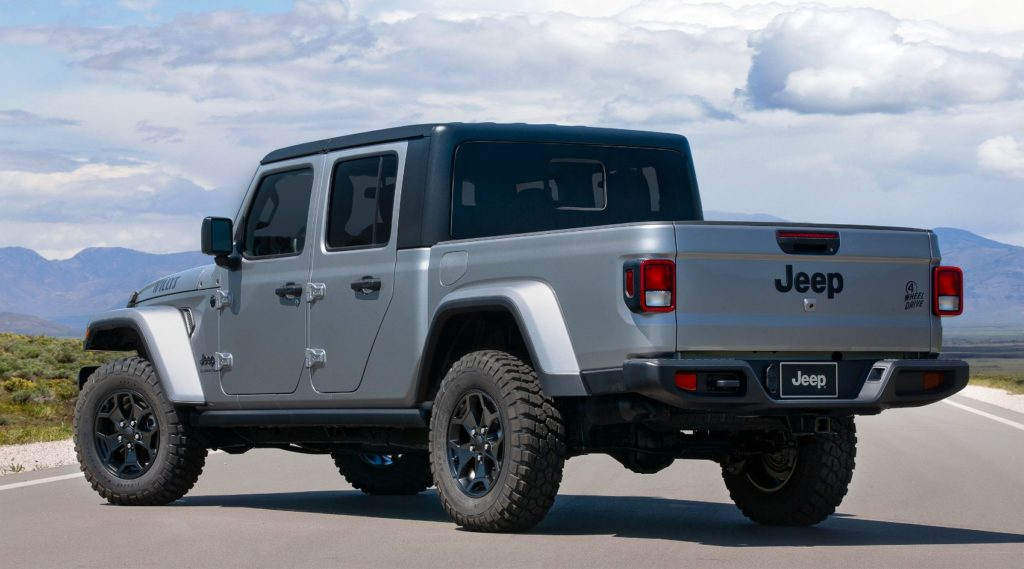 2021 Jeep Gladiator Willys.