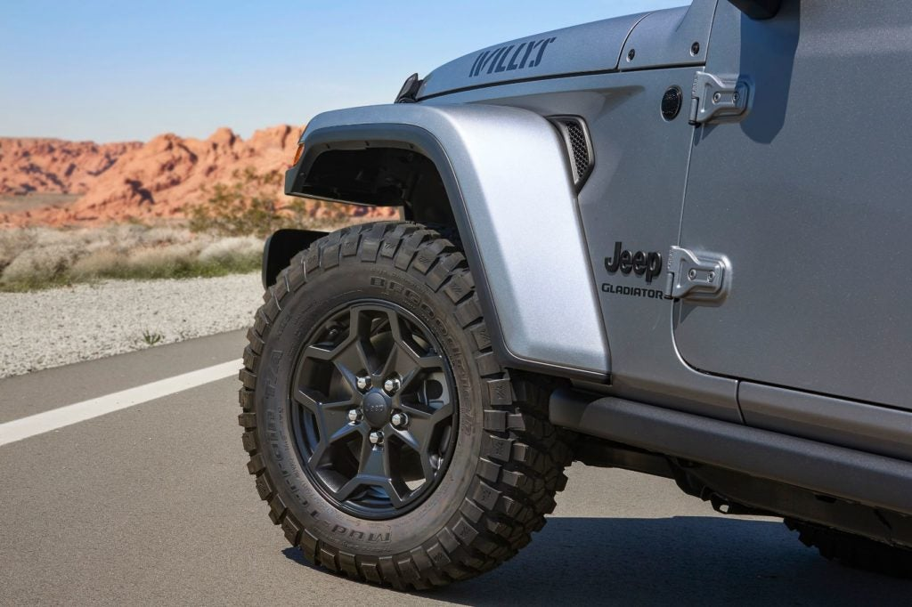 2021 Jeep Gladiator Willys 5
