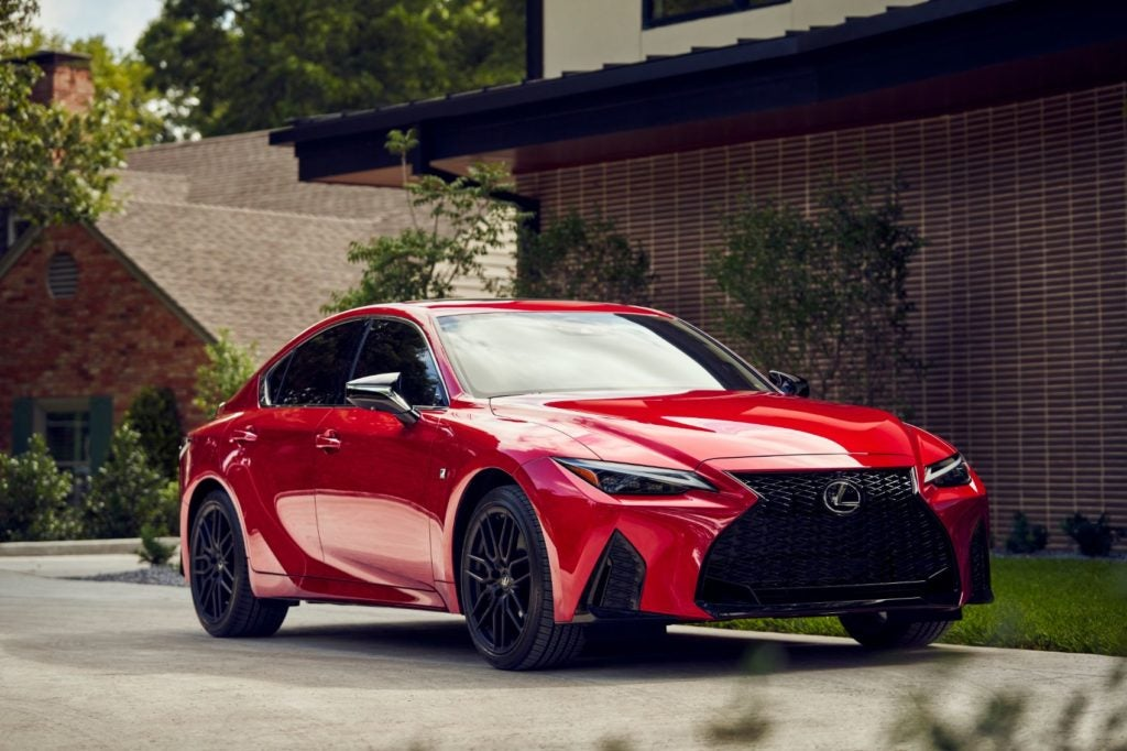 2021 Lexus IS 350 F Sport.
