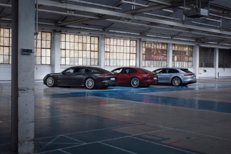 2021 Porsche Panamera 4S and Hybrid Models 9