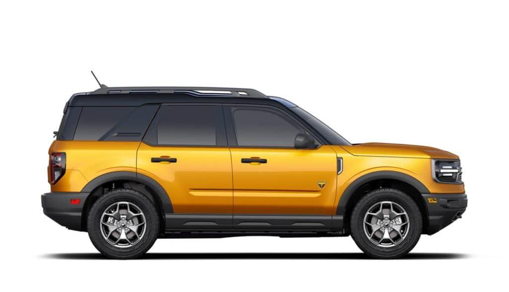 2021 Bronco Sport Badlands Cyber Orange