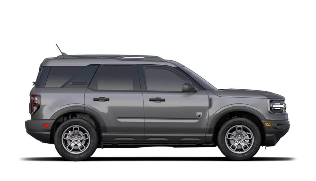 2021 Bronco Sport Big Bend Carbonized Gray