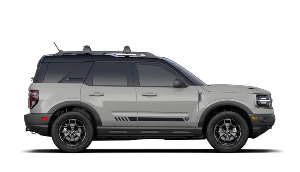 2021 Bronco Sport First Edition Cactus Gray