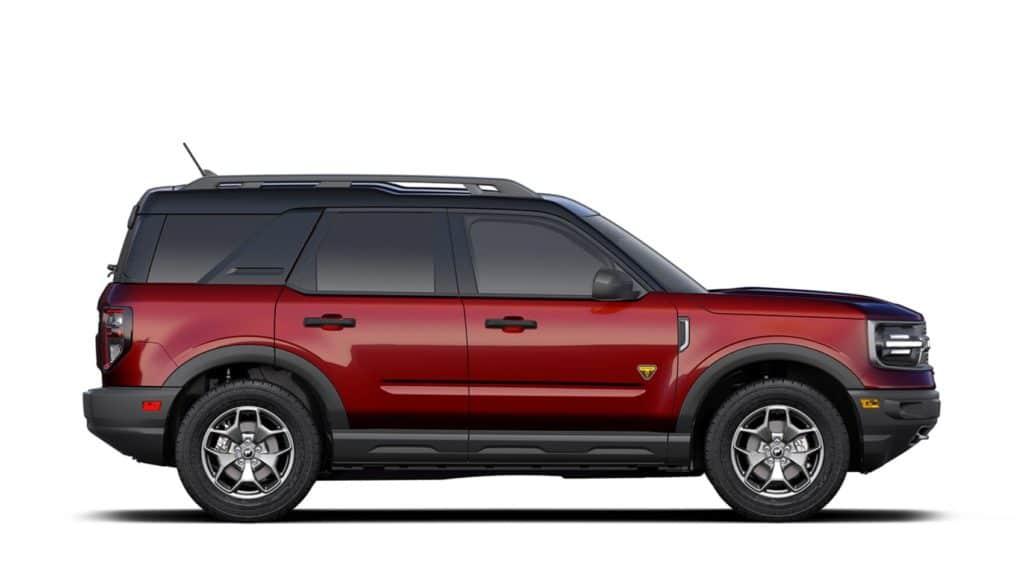 2021 Bronco Sport Rapid Red