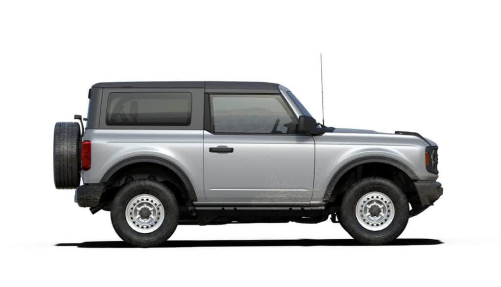 2021 Bronco Two Door Base Iconic Silver