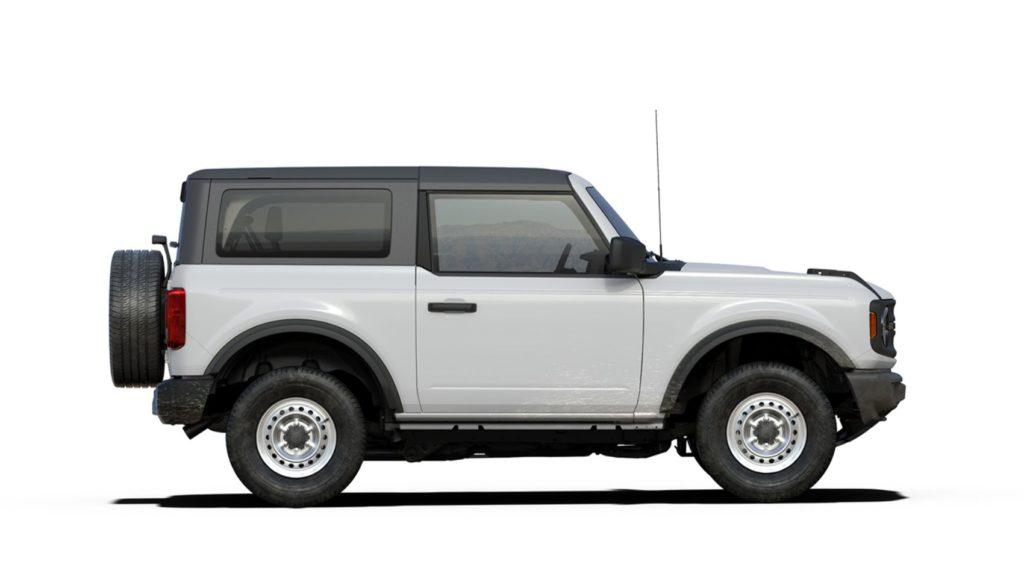2021 Bronco Two Door Base Oxford White