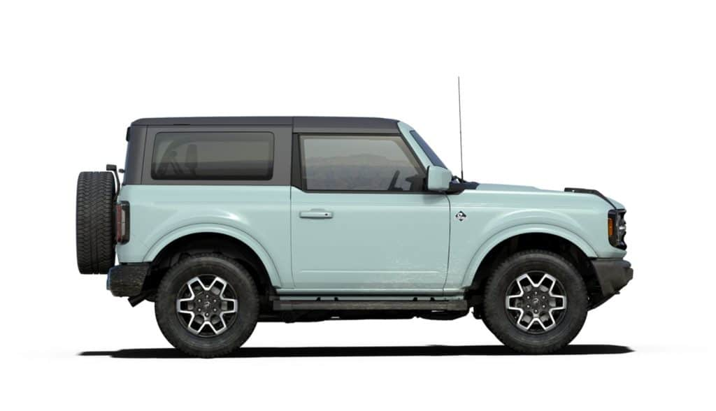 2021 Bronco Two Door Outer Banks Cactus Gray