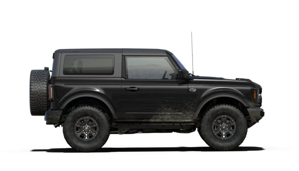 2021 Bronco Two Door Wildtrak Shadow Black