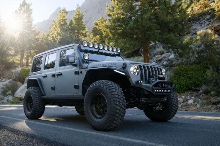 DeBerti Jeep Wrangler Rubicon 5