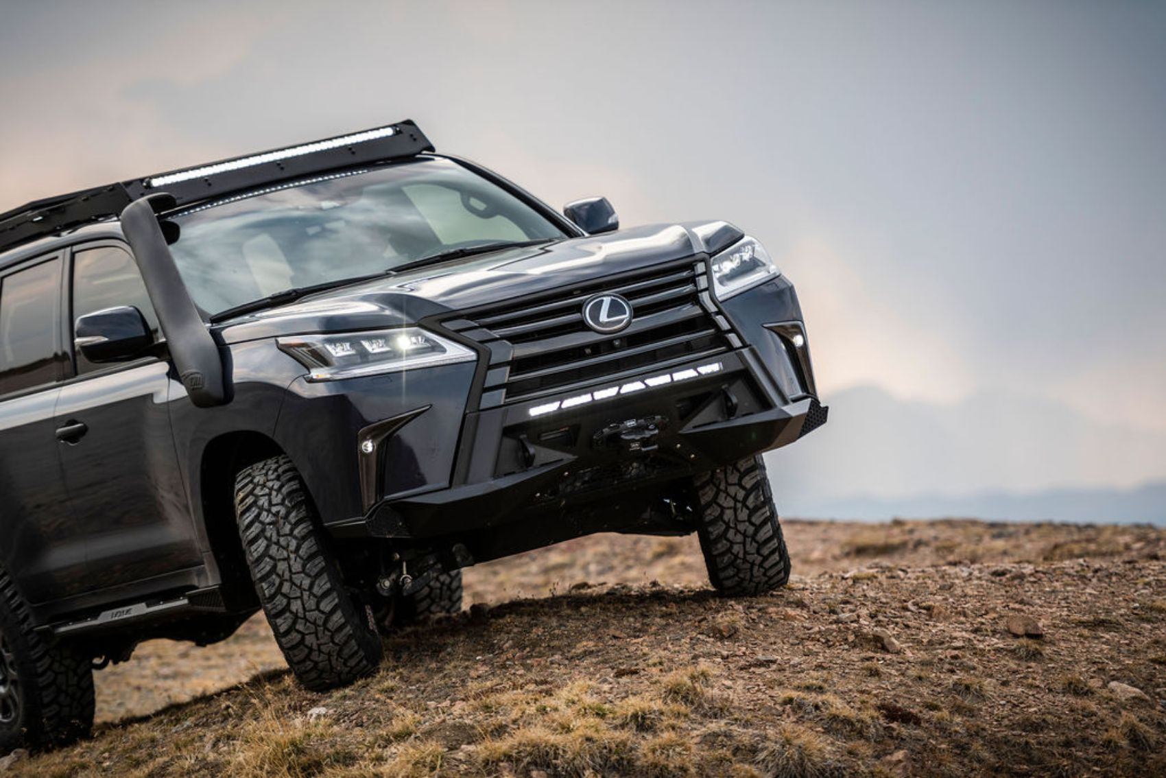 Lexus J201 Concept to Tackle Upcoming Rebelle Rally