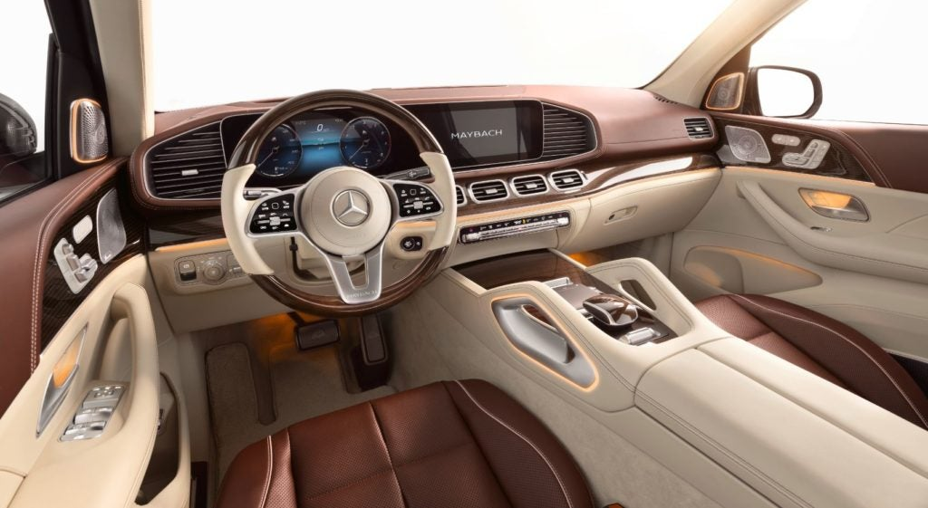 Mercedes Maybach GLS 10