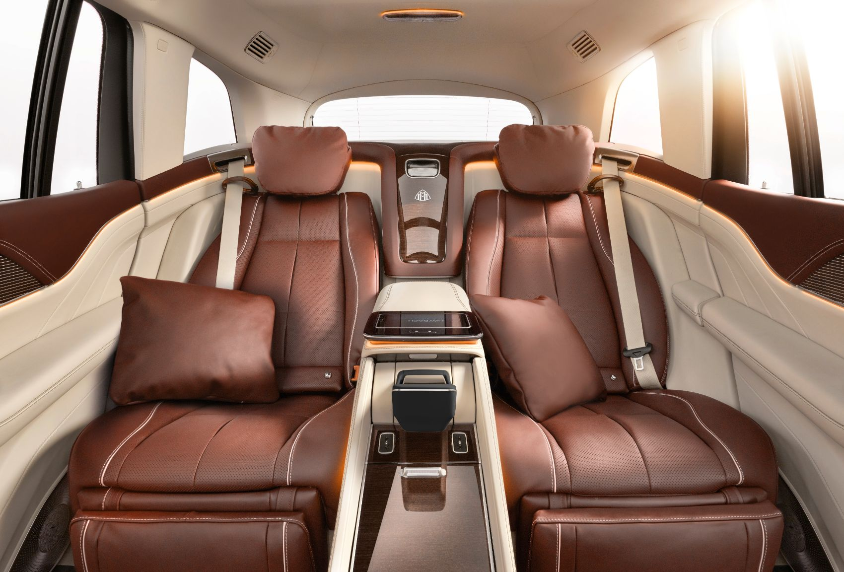Mercedes-Maybach GLS: This Four-Wheeled Luxury Condo has a Fridge & Champagne Flutes