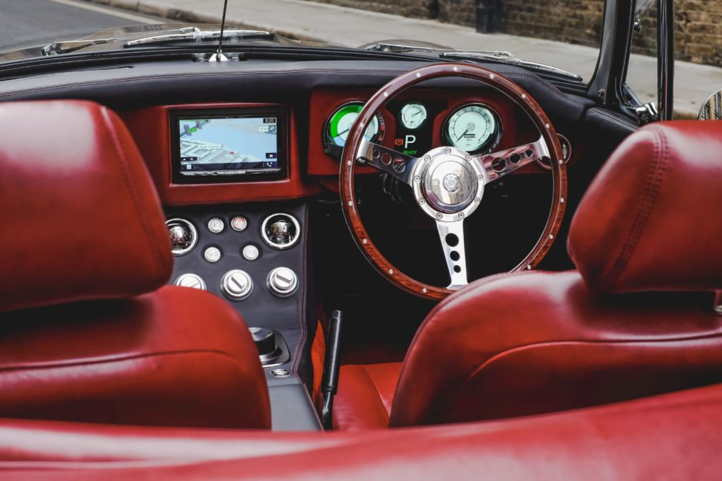 RBW Roadster interior layout.