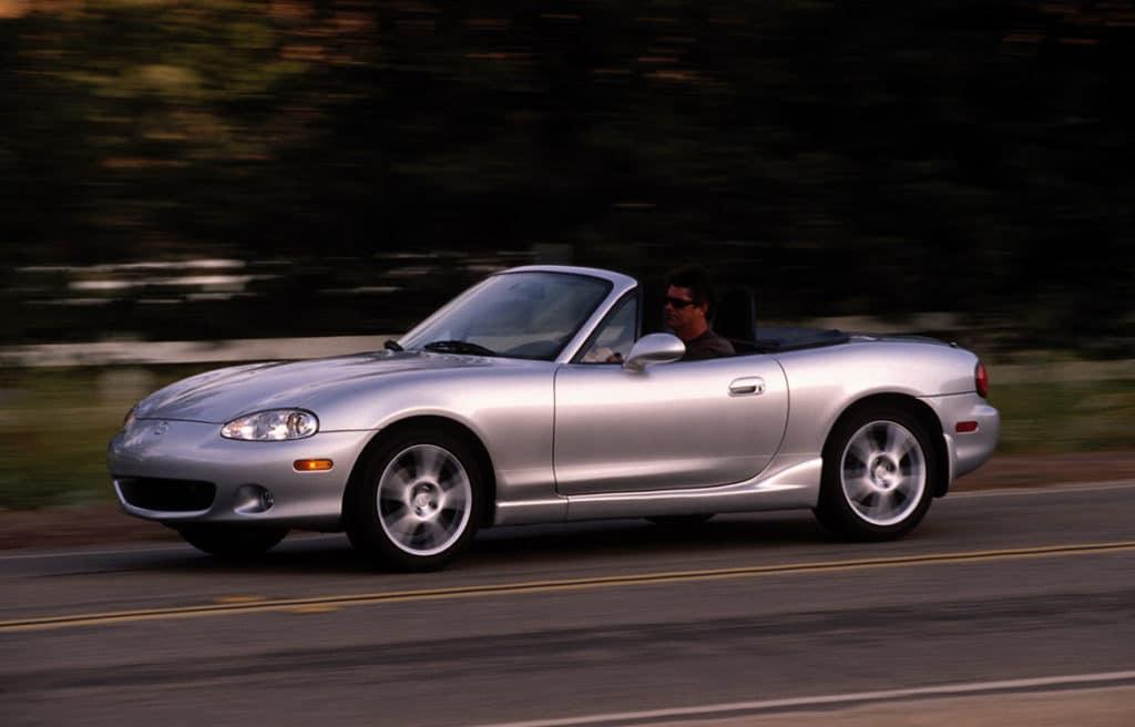 2004 Mazda MX-5 Miata.